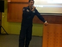 Dr Sheikh giving seminar in ITE Singapore