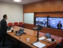 Video Conference with STIE IT&B, Medan